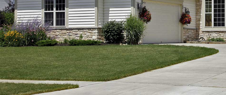 Ongoing weekly lawn mowing and maintenance client in the Thornton, CO